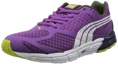 PUMA Women's FAAS 500 S Running Shoe,Sparkling Grape/White,8 B US