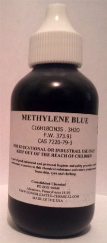 Methylene Blue 1% Stain 2oz (60ml)