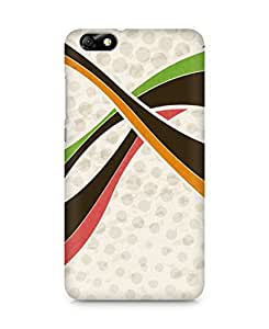Amez designer printed 3d premium high quality back case cover for Huawei Honor 4X (Abstract Colorful 2)
