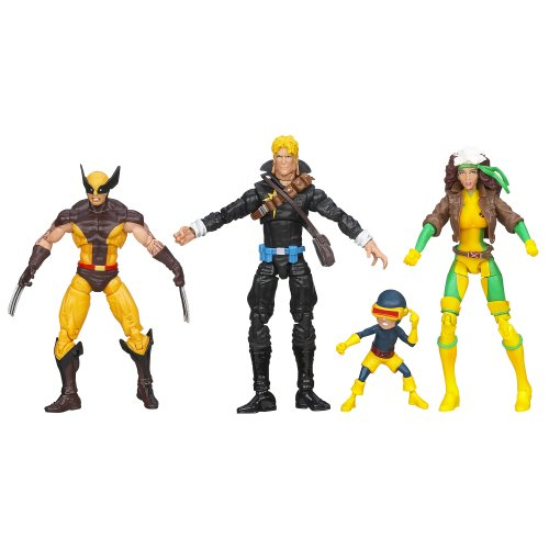 Marvel Universe Super Hero Teams The Uncanny X-Men Action Figure Box Set (Marvel Universe Rogue compare prices)