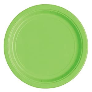 Lime Green Dessert Plates, 20ct