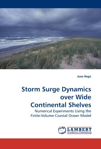 Storm Surge Dynamics over Wide Continental Shelves: Numerical Experiments Using the Finite-Volume Coastal Ocean Model