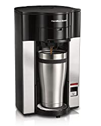 Hamilton Beach Stay or Go Personal Cup Pod Coffeemaker 49990Z by Hamilton Beach