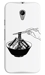 Dreambolic enjoy-your-meal White Back Cover for Moto G3
