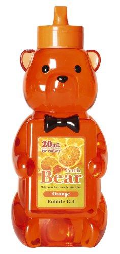 ノルコーポレーション バブルバス バスベアバブルジェル ジャンボサイズ 1000ml オレンジの香り OB-BGL-3-5