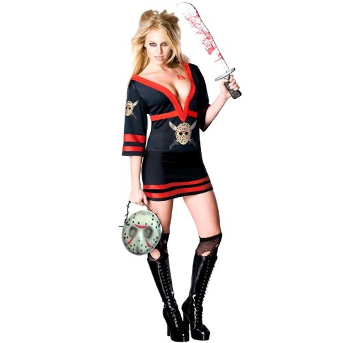 Sexy Miss Jason Voorhees Costume - Womens Medium