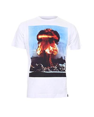 COTTON SOUL Camiseta Manga Corta A-Bomb Blanco