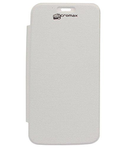 DMG Flip Cover for Micromax Canvas Turbo Mini A200 (White)