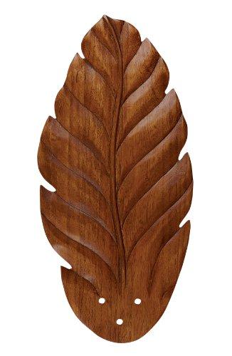 Emerson B48DO Hand Carved Leaf Blades, 20.75-Inch Long, 9.75-Inch Wide, Dark Oak, Set of 5