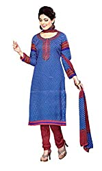 Sagi Women's Cotton Silk Unstitched Dress Material (SDDM-03_Multi_Free Size)