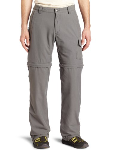 Mountain Khakis Men's Granite Creek Convertible (Ash, 28x30)
