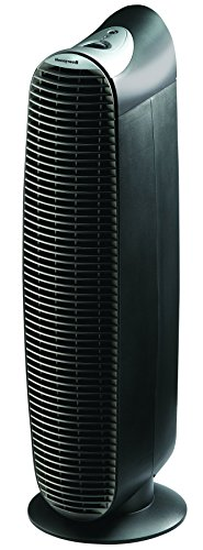 Honeywell Permanent Hepa-Type Tower Air Purifier With 3 Speed Manual Controls