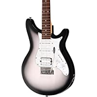 Rogue Rocketeer Deluxe Electric Guitar (Grey Burst)