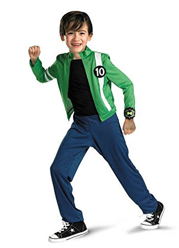 boys - Ben 10 Alien Force Classic Md Halloween Costume - Child 7-10