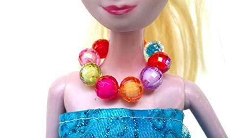 "Sister Selected : ""Rainbow Jewelry"" for Princess Necklace. Assorted Colors."