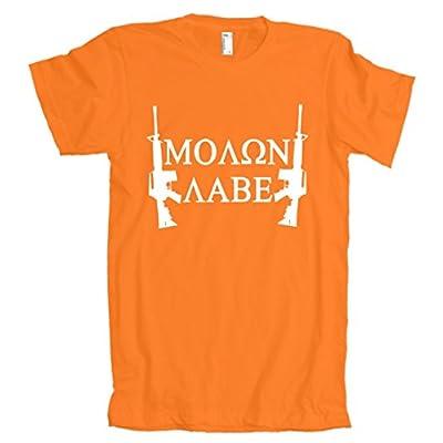 Molon Labe AR15 American Apparel T-Shirt