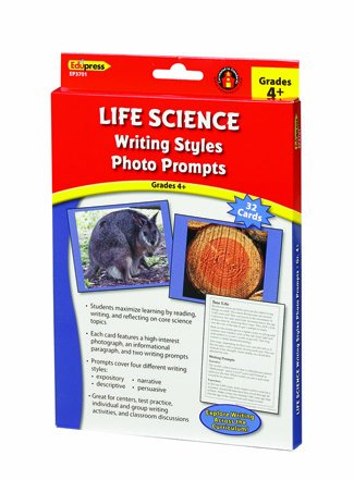 Edupress Life Science Writing Styles Photo Prompts (Grade 4)