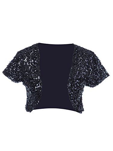 13b10f6117f8 Gold, Silver, Sequined and Beaded Bolero Jackets and Shrugs