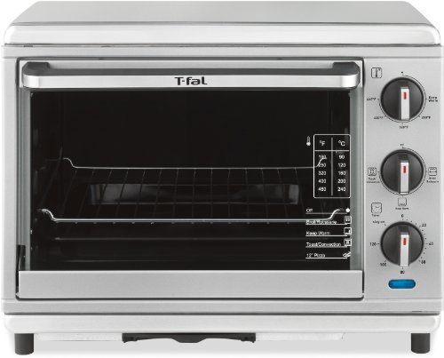 T fal ot274e stainless steel convection and rotisserie toaster oven silver check price copatkazu for Toaster oven stainless steel interior