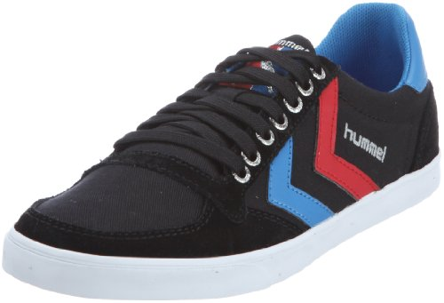 hummel-slimmer-stadil-low-canvas-63-112-2639-sneaker-unisex-adulto-nero-schwarz-black-brilliant-blue