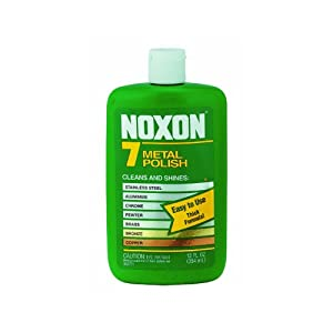 Noxon 7 Metal Polish Cleaner Bottle 12 Oz
