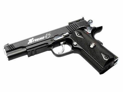 Gg Armament Xtreme 45 Co2 Airsoft Pistol Black by G&G Armament