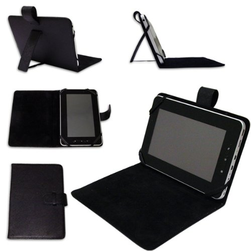 Time2® NEW 7″ Inch Leather Look Case (WITH STAND) For Protection Of Your 7″ Tablet PC Pad Device.