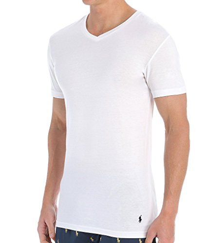 Polo Ralph Lauren Slim Fit V-Neck Undershirts 3-Pack