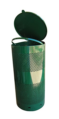 Pet Waste Can Green Outdoor Pet Waste Receptacle (Dog Trash Can compare prices)