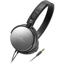 audio-technica ポータブルヘッドホン(ブラック) ATH-ES7-BK