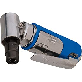 Campbell Hausfeld PL154199AV Pnuematic Right Angle Die Grinder with 1/4-Inch and 1/8-Inch Collets
