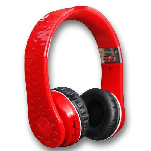 Fanny Wang 1000Series On Ear Wangs レッド FW-1003-REDの写真01。おしゃれなヘッドホンをおすすめ-HEADMAN(ヘッドマン)-