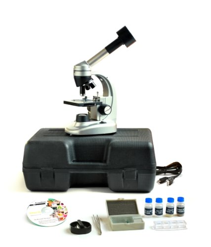 Levenhuk D50L Ng Digital Microscope Monocular 40-1280X 2Mpx With Software And Experiment Kit