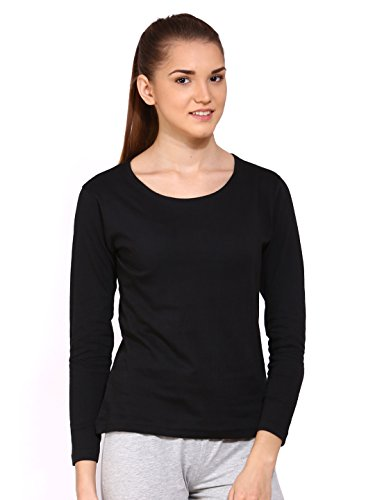 Ap'pulse Women's Long Sleeve Round Neck T Shirt