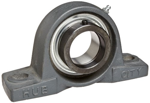 Hub City PB221URX1-15/16 Pillow Block Mounted Bearing, Normal Duty, High Shaft Height, Relube, Eccentric Locking Collar, Narrow Inner Race, Cast Iron Housing, 1-15/16 Bore, 2.51 Length Through Bore, 2.25 Base To Height na4910 heavy duty needle roller bearing entity needle bearing with inner ring 4524910 size 50 72 22
