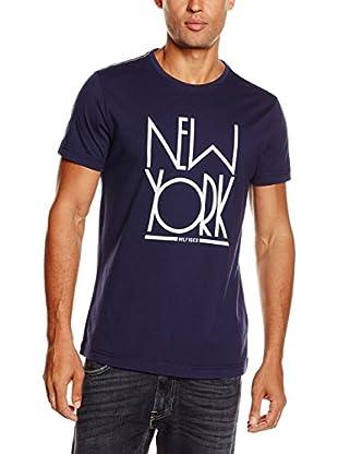 Tommy Hilfiger Camiseta Manga Corta (Azul)