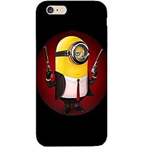 Casotec Minion Design Hard Back Case Cover for Apple iPhone 6 Plus / 6S Plus