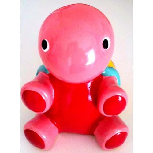 Ceramic Turtle Coin Money Bank, Pink