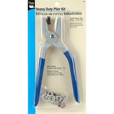 Dritz Heavy Duty Snap Fastener Plier Kit