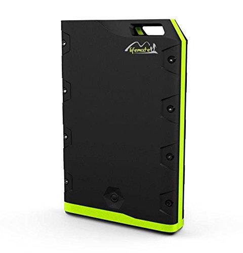 otas lifemate Power Lion モバイルバッテリー 超大容量24000mAh 完全アウトドア仕様完全防水/完全防塵/耐衝撃本体急速充電システム搭載 iPhone5S/5C/5/4S/iPad mini/Xperia/Android/各種スマホ/Wi-Fiルータ等対応 HB-R24