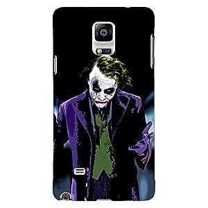 Jugaaduu Villain Joker Back Cover Case For Samsung Galaxy Note 4