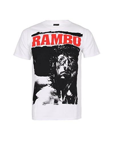 ICONIC COLLECTION - RAMBO T-Shirt Manica Corta Rambo Stare [Bianco]