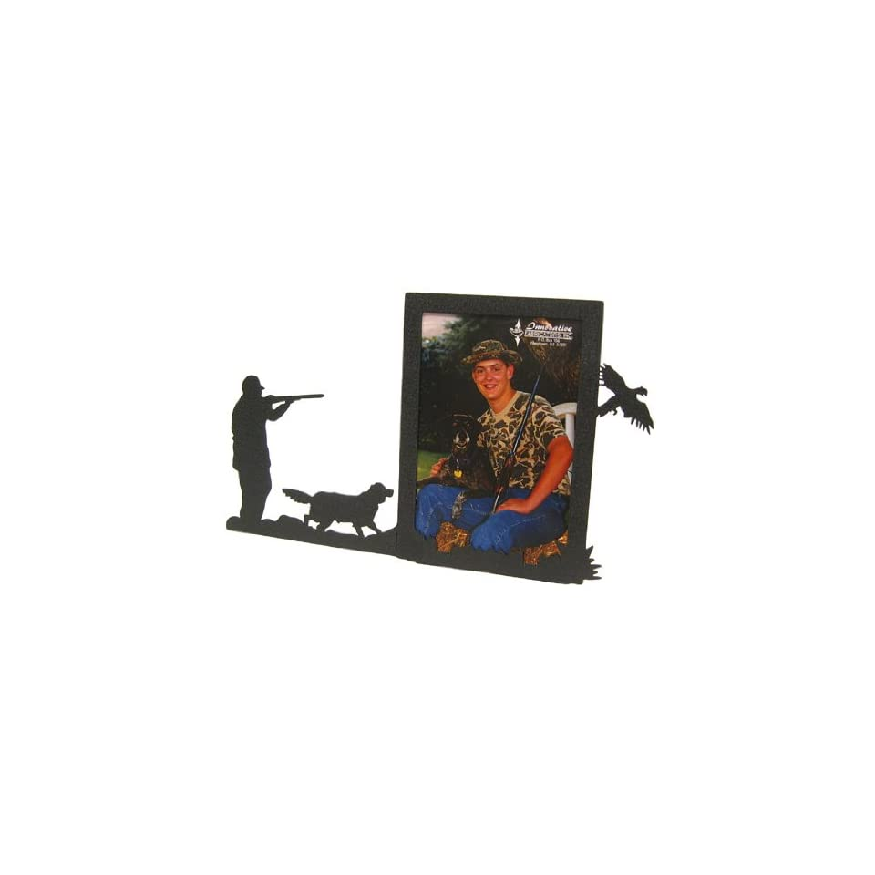 Pheasant Hunt & Setter 3X5 Vertical Picture Frame