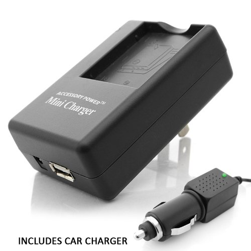 PRO SERIES AC & DC FUJI BC-45 Equivalent NP-45 Charger for select FujiFilm FinePix Cameras
