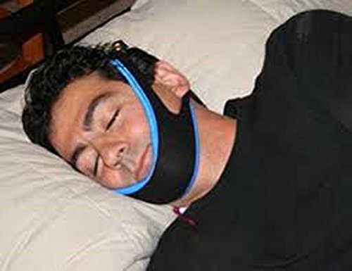 Stop Snoring And Heavy Breathing By My Snoring Solution Chin Strap. W/ Bonus Sleep Package Included. #1 Ranked Device On the Market.