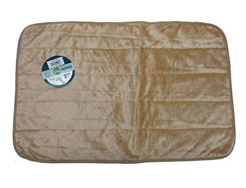 Iconic Pet Premium Long Plush Crate Mat, X-Large, Brown front-41742