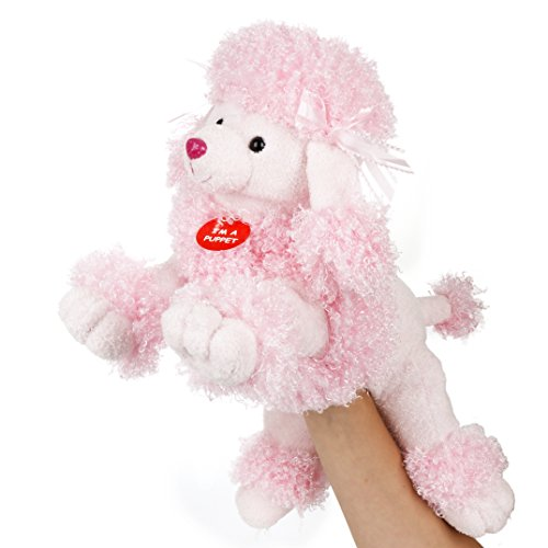 Fancy the Pink Poodle Body Puppet
