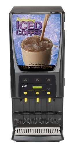 Wilbur Curtis G3 System 3 Station Iced Coffee (One 5 Lb And Two 10 Lb Hopper) - Commercial Iced Coffee Machine - PCGT3900 (Each)
