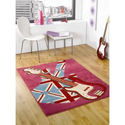 girls-rock-guitare-tapis-rose-120-x-160-cm-timbre-retro-uk-mainland-seulement