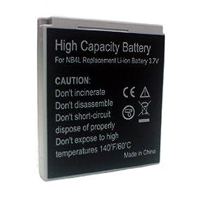 Accumulatore Li-Ion Canon PowerShot TX1 PowerShot SD1100 IS PowerShot SD1000 PowerShot SD750 ecc.